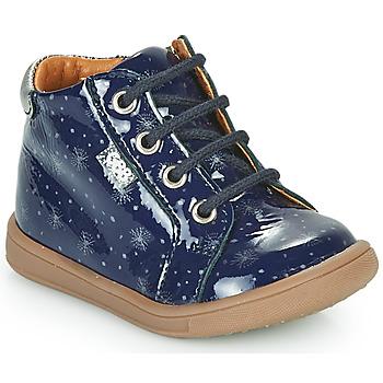 Topánky Dievčatá Členkové tenisky GBB FAMIA Modrá