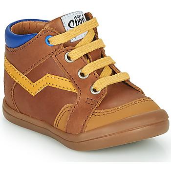Topánky Chlapci Členkové tenisky GBB ASTORY Hnedá