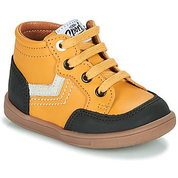 Topánky Chlapci Členkové tenisky GBB VIGO Žltá
