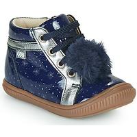 Topánky Dievčatá Členkové tenisky GBB ISAURE Modrá