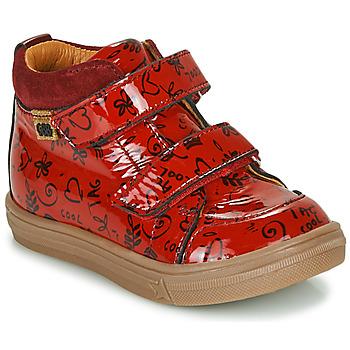 Topánky Dievčatá Členkové tenisky GBB DOMENA Červená