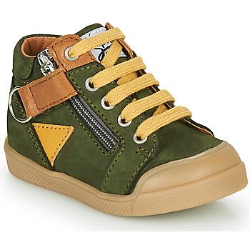 Topánky Chlapci Členkové tenisky GBB TIMOTHE Zelená