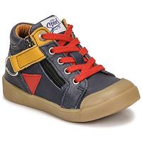 Topánky Chlapci Členkové tenisky GBB TIMOTHE Modrá