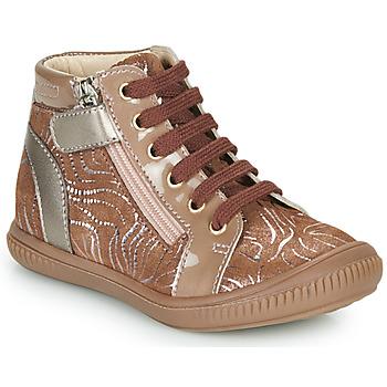 Topánky Dievčatá Členkové tenisky GBB RACHIDA Béžová