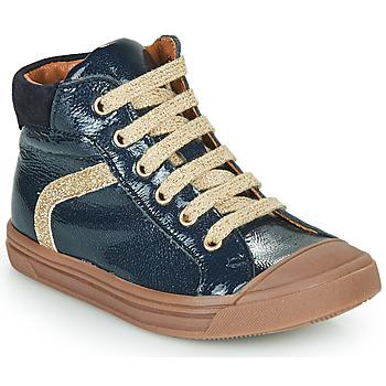 Topánky Dievčatá Členkové tenisky GBB VIVENA Modrá