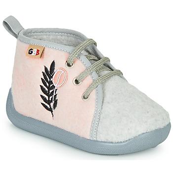 Topánky Deti Papuče GBB APOLOCHON Ružová