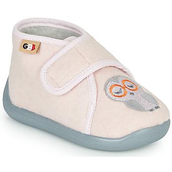 Topánky Dievčatá Papuče GBB APOCHOU Ružová