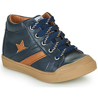 Topánky Chlapci Členkové tenisky GBB LEON Modrá