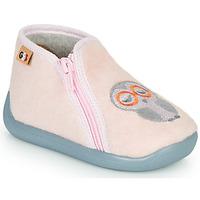 Topánky Dievčatá Papuče GBB APOPOTAM Ružová
