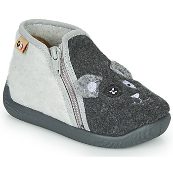 Topánky Dievčatá Papuče GBB APOPOTAM Čierna