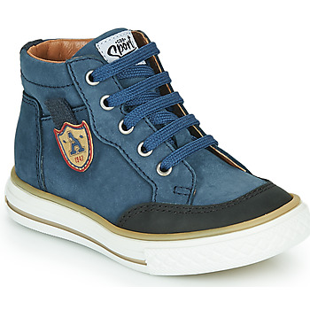Topánky Chlapci Členkové tenisky GBB NATHAN Modrá