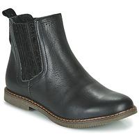Topánky Dievčatá Polokozačky GBB EVERY Čierna