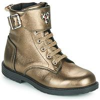 Topánky Dievčatá Členkové tenisky GBB DOZZY Zlatá