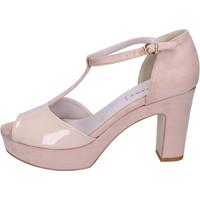 Topánky Ženy Sandále Olga Rubini Sandále BJ397 Béžová