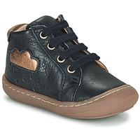 Topánky Dievčatá Členkové tenisky GBB APOLOGY Modrá