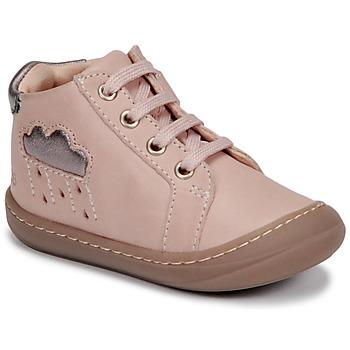 Topánky Dievčatá Členkové tenisky GBB APOLOGY Ružová