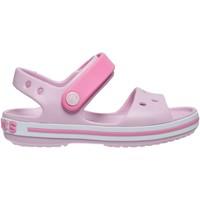 Topánky Dievčatá Sandále Crocs Crocs™ Crocband Sandal Kids Ružová