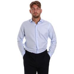 Oblečenie Muži Košele s dlhým rukávom Les Copains 000.058 P3196SL Modrá