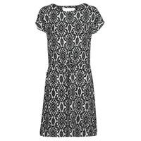 Oblečenie Ženy Krátke šaty Only ONLNOVA Biela / Čierna