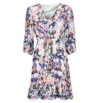 Oblečenie Ženy Krátke šaty Only ONLZOE Biela / Viacfarebná