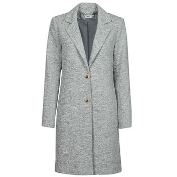 Oblečenie Ženy Kabáty Only ONLCARRIE Šedá