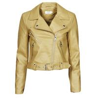Oblečenie Ženy Kožené bundy a syntetické bundy Only ONLVALERIE Žltá