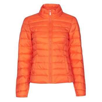 Oblečenie Ženy Vyteplené bundy Only ONLNEWTAHOE Oranžová