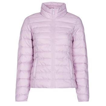Oblečenie Ženy Vyteplené bundy Only ONLNEWTAHOE Tmavá fialová