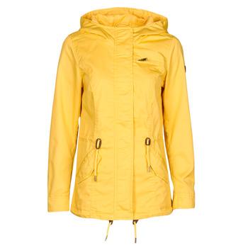 Oblečenie Ženy Parky Only ONLLORCA Žltá
