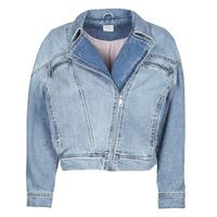 Oblečenie Ženy Džínsové bundy Only ONLJACK Modrá / Medium