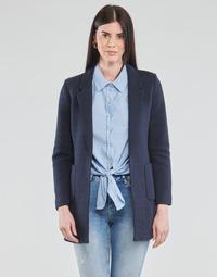 Oblečenie Ženy Saká a blejzre Only ONLBAKER-LINEA Námornícka modrá
