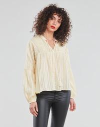 Oblečenie Ženy Blúzky Only ONLNEW ELISA Béžová