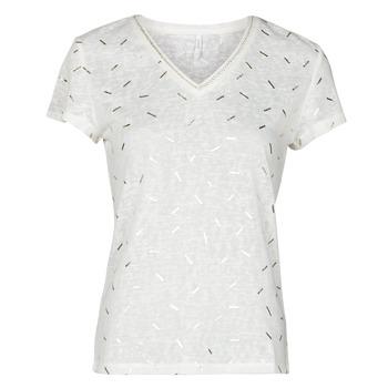 Oblečenie Ženy Blúzky Only ONLSTEPHANIA Biela