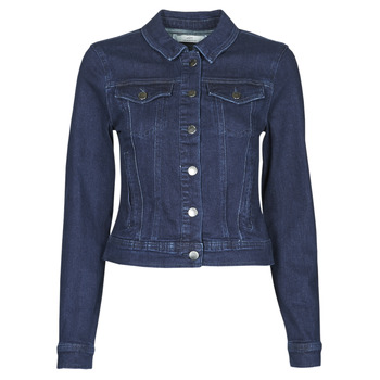 Oblečenie Ženy Džínsové bundy JDY JDYNEWWINNER STR JACKET BOX DNM NOOS Modrá / Medium