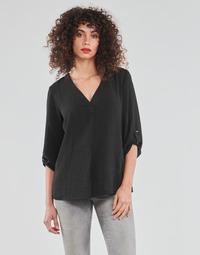 Oblečenie Ženy Blúzky JDY JDYDIVYA 3/4 TOP WVN NOOS Čierna