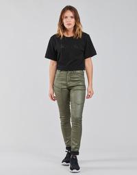 Oblečenie Ženy Nohavice Cargo G-Star Raw HIGH G-SHAPE CARGO SKINNY PANT WMN Kaki