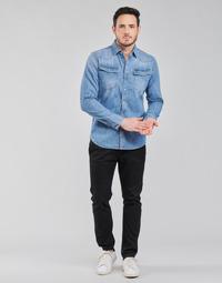 Oblečenie Muži Nohavice Chinos a Carrot G-Star Raw VETAR SLIM CHIN Čierna