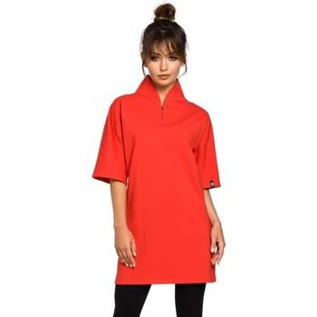Oblečenie Ženy Tuniky Be B043 Kimono tunika - červená
