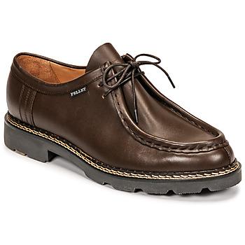 Topánky Muži Derbie Pellet Macho Hnedá