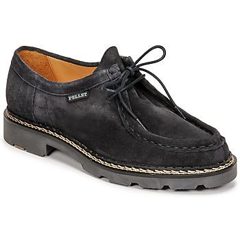Topánky Muži Derbie Pellet Macho Modrá