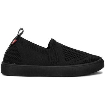 Topánky Dievčatá Slip-on Big Star HH374107 Čierna