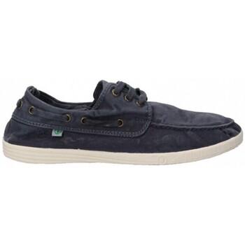 Topánky Muži Námornícke mokasíny Natural World 55168 Modrá