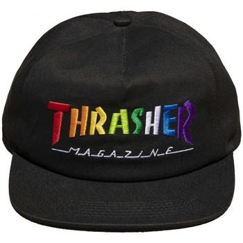 Textilné doplnky Muži Šiltovky Thrasher Cap rainbow mag snapback Čierna