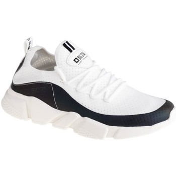 Topánky Ženy Nízke tenisky Big Star FF274A052 Biela, Čierna