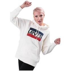 Oblečenie Ženy Mikiny Levi's Graphic Sport Biela