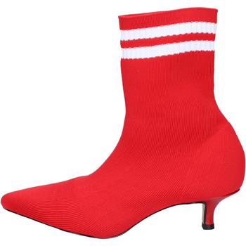 Topánky Ženy Čižmičky Olga Rubini Členkové Topánky BJ427 Červená
