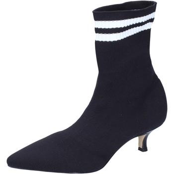 Topánky Ženy Čižmičky Olga Rubini Členkové Topánky BJ428 Čierna