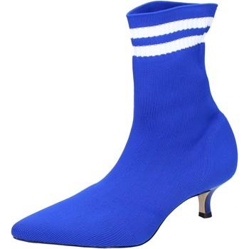 Topánky Ženy Čižmičky Olga Rubini Členkové Topánky BJ429 Modrá