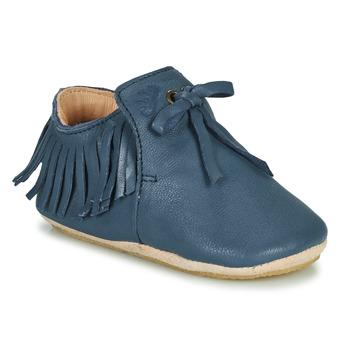 Topánky Deti Papuče Easy Peasy MEXIBLU Modrá