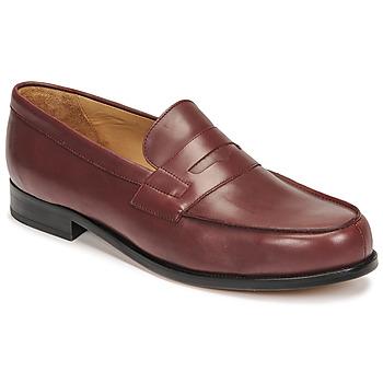 Topánky Muži Mokasíny Pellet Colbert Červená